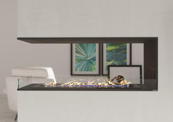 Бикамин в современном интерьере гостиной