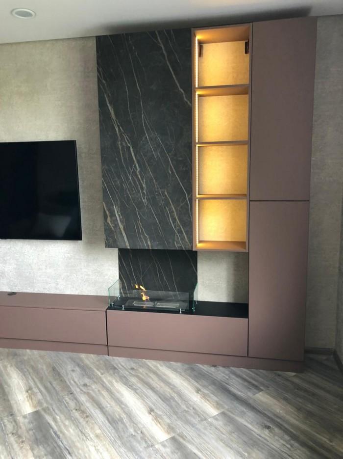 мебель с биокамином