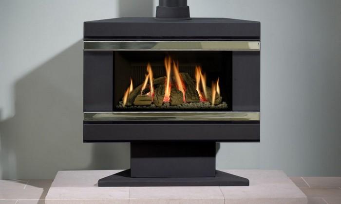Температура горения газового камина