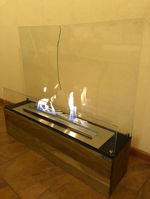 стекло для биокамина