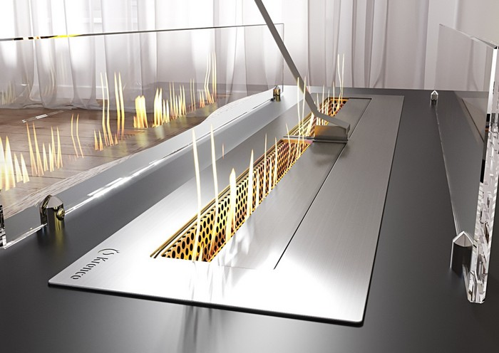 задвижка-слайдер для биокамина