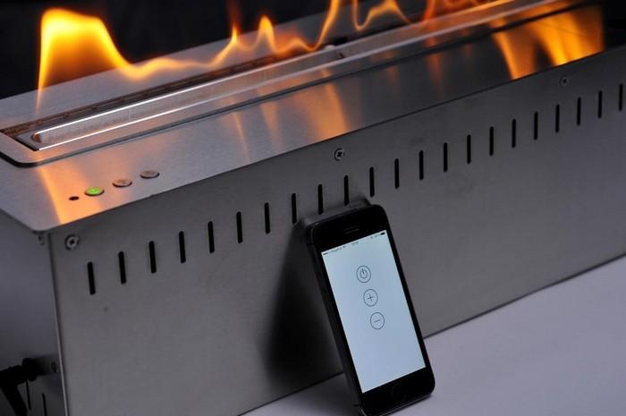 автоматический топливный блок для биокамина