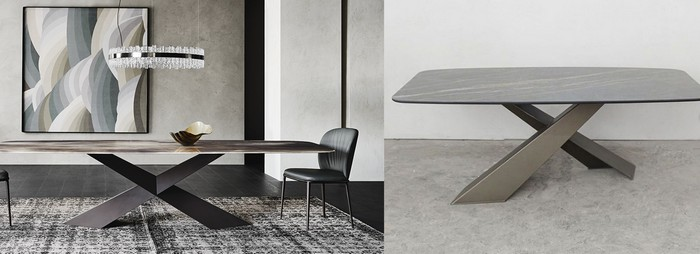 копия и оригинал стола из Италии