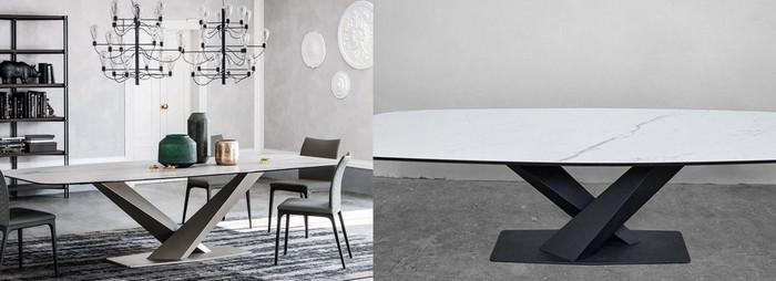копия итальянского стола и оригинал