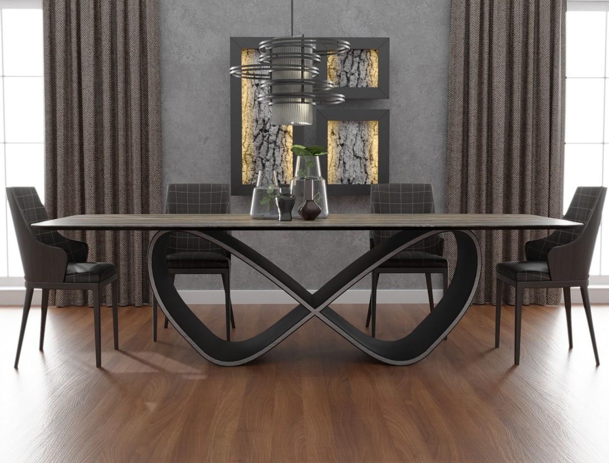 стол со столешницей из керамогранита