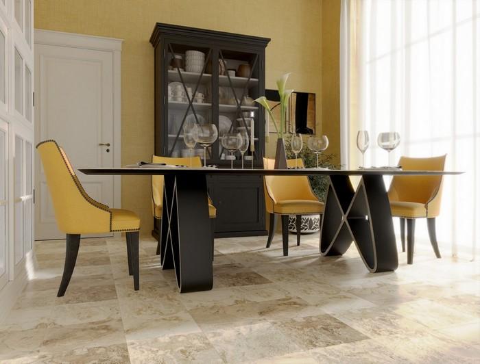 дизайнерский стол из итальянского керамогранита