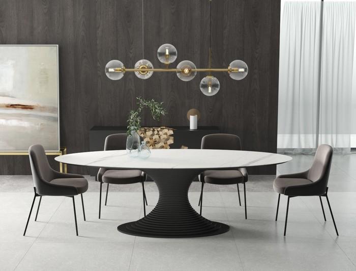 обеденный стол из керамогранита от Kronco