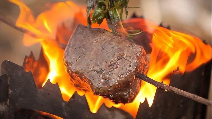 биокамин для приготовления пищи