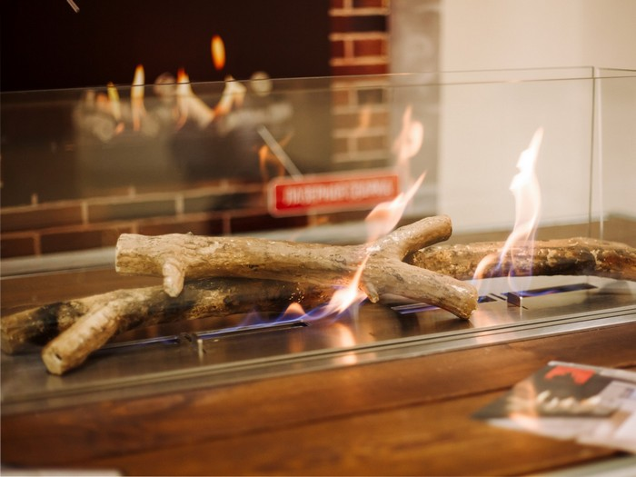 декоративные дрова для биокамина